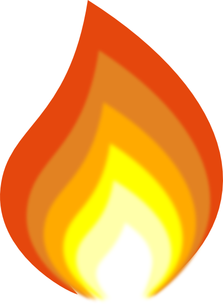 Holy spirit flame clipart