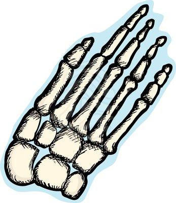 Human broken bones clipart