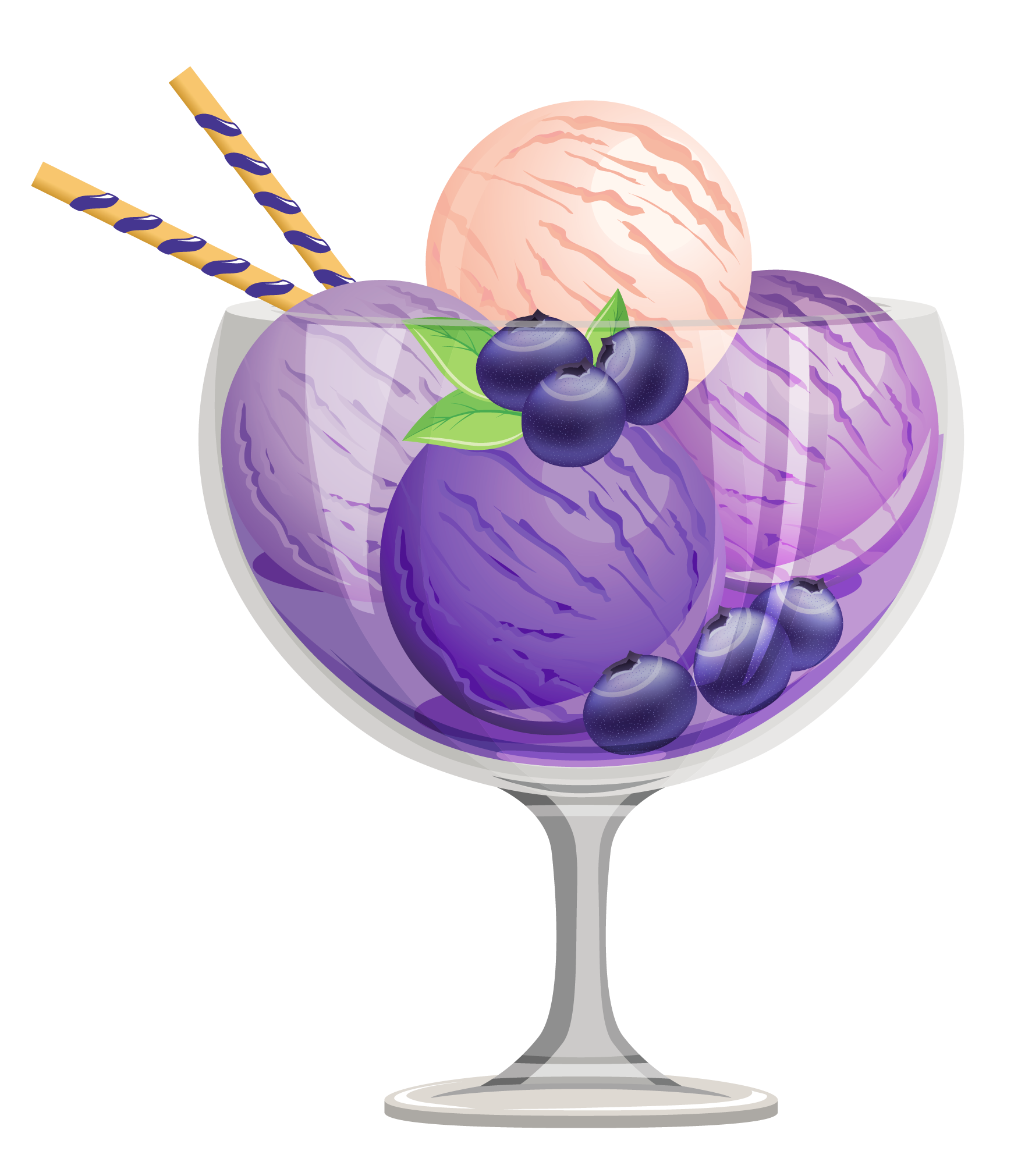 Ice cream sundae clipart 9