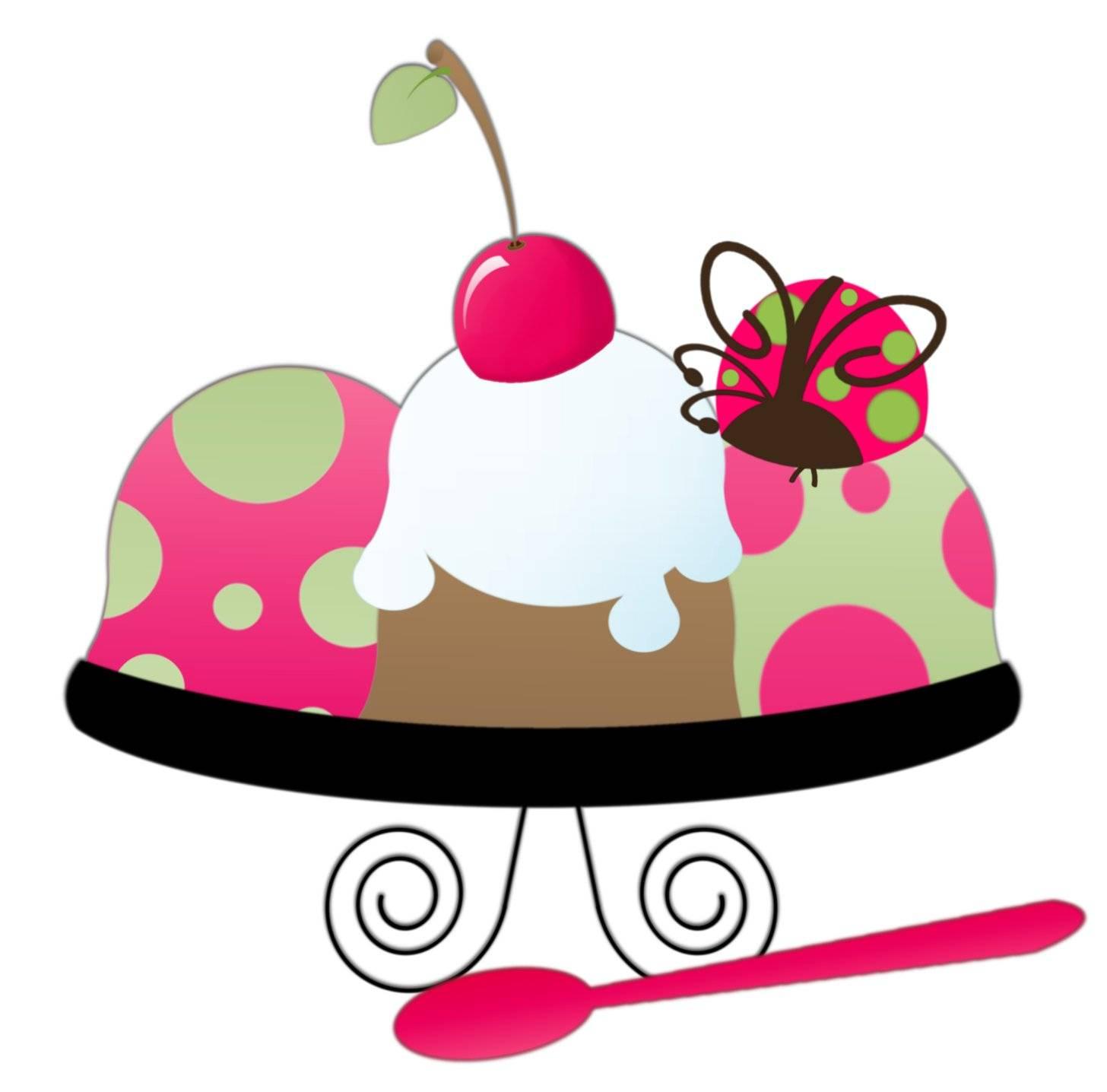 Ice cream sundae clipart free images 6