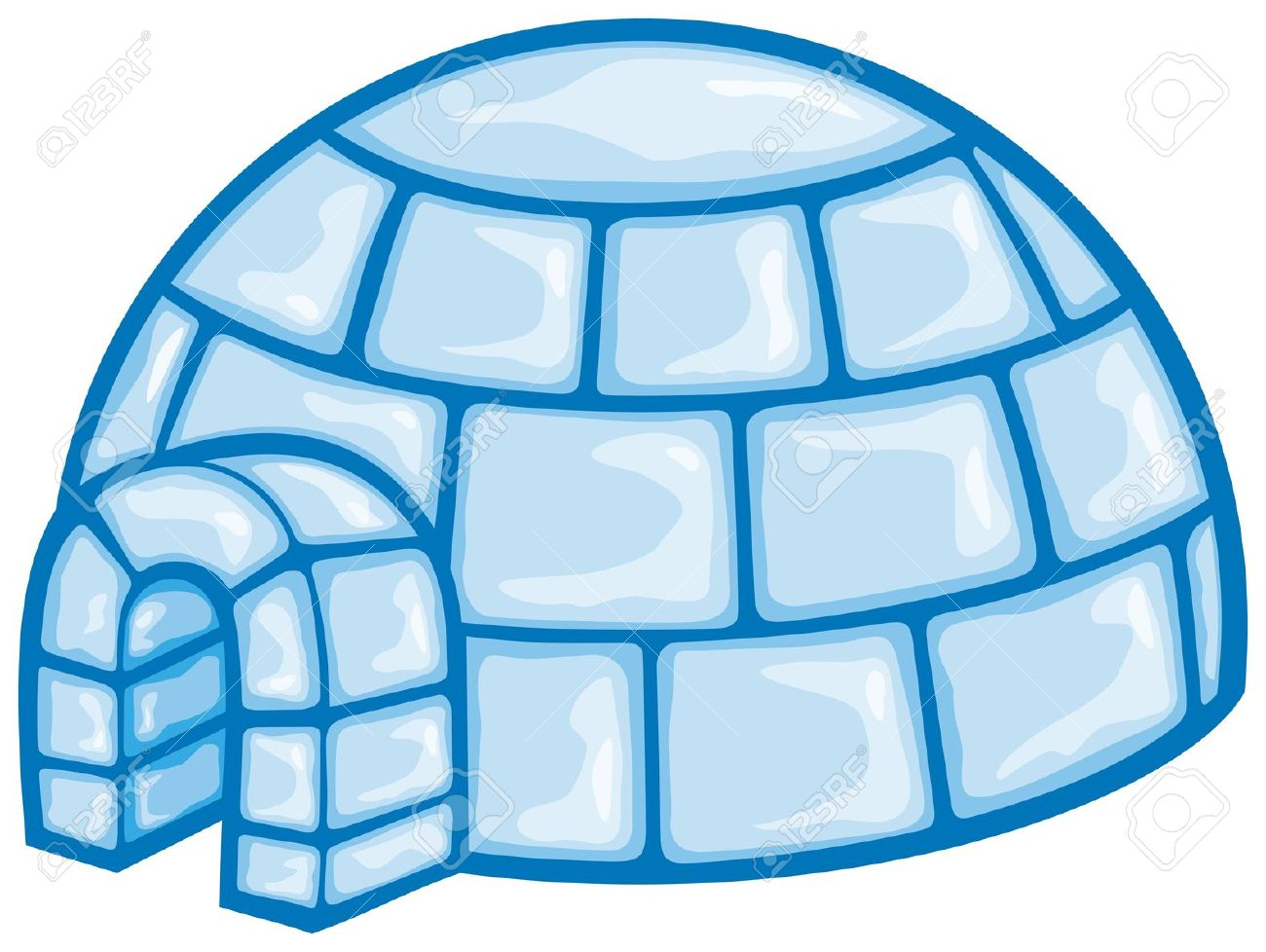 Igloo cartoon related keywords clip art