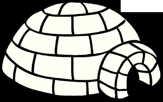 Clip Art Igloo Clip Art igloo clipart black and white wikiclipart 5