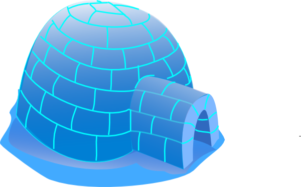 Igloo free to use clip art