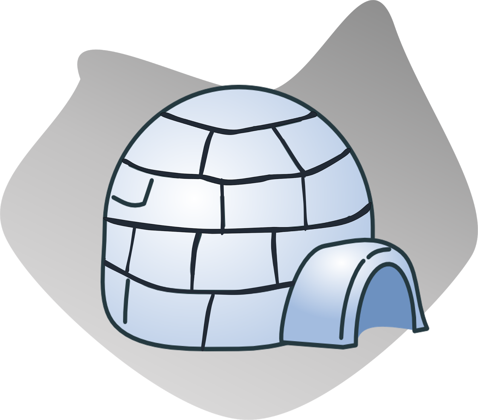 Igloo house cliparts clipart club