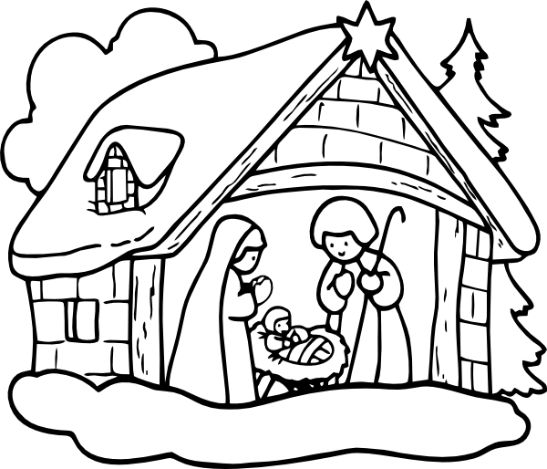 Igloo snowy clipart black and white free images