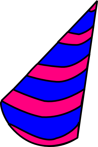 Image of birthday hat clipart 5 clip art vector