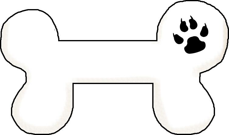 Image of dog bone clipart chew clip art