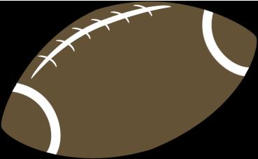 Image of football clipart 1 border clip art