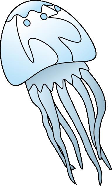 Jellyfish clip art 4