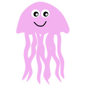 Jellyfish clipart 8