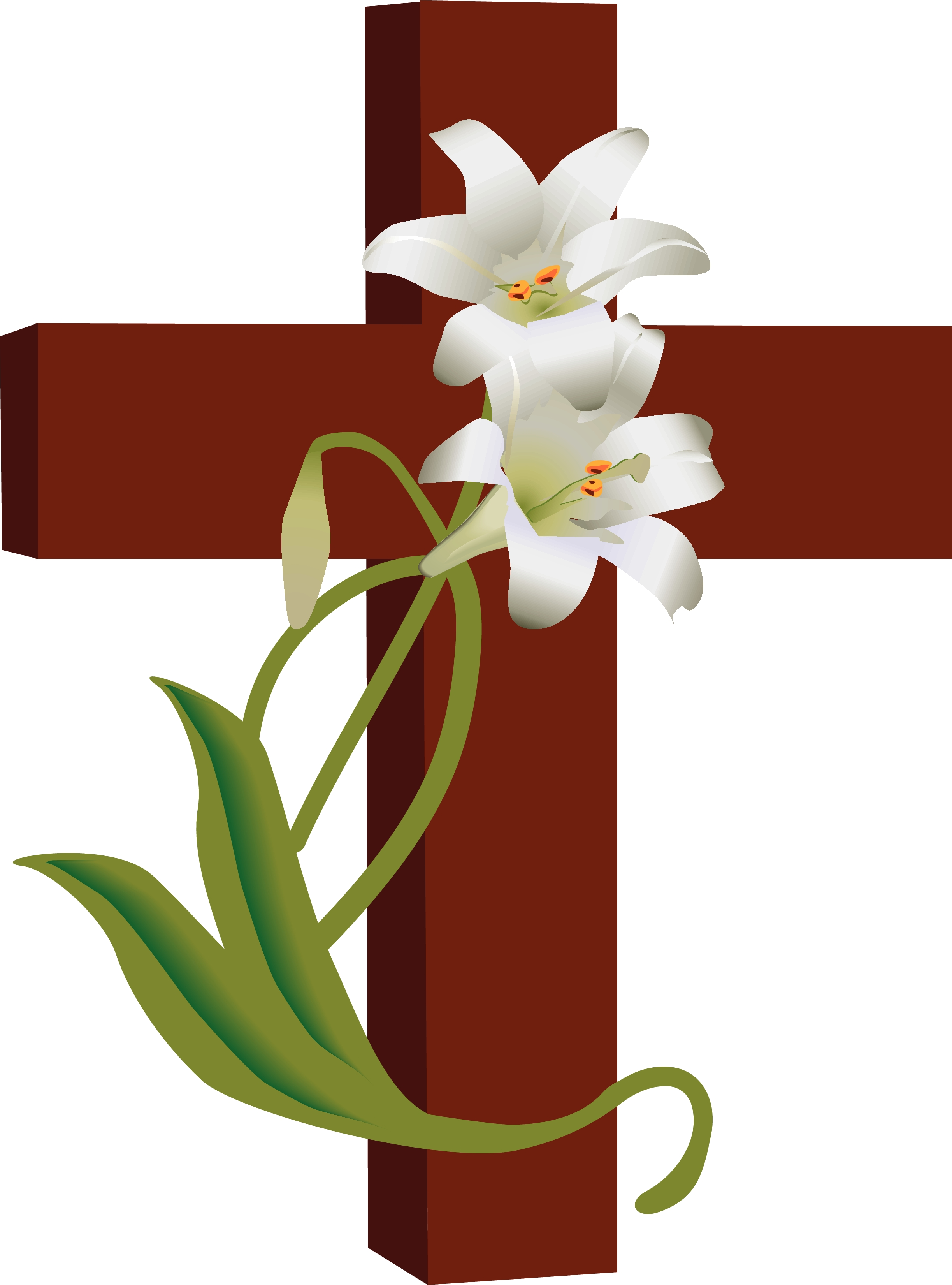 Jesus on the cross clipart