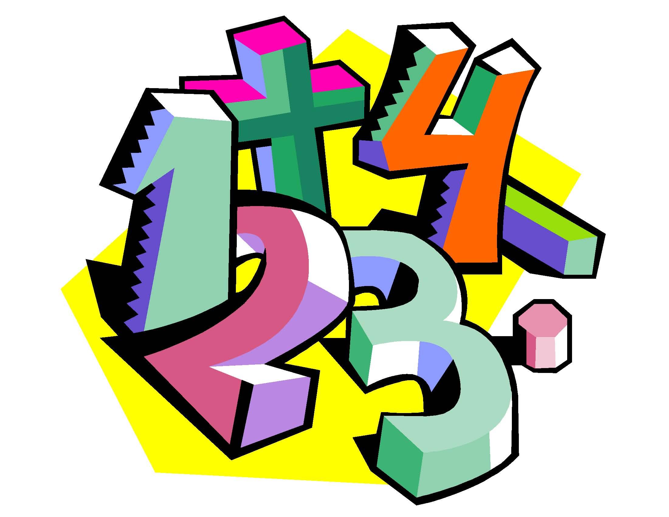 Kindergarten math clipart free images