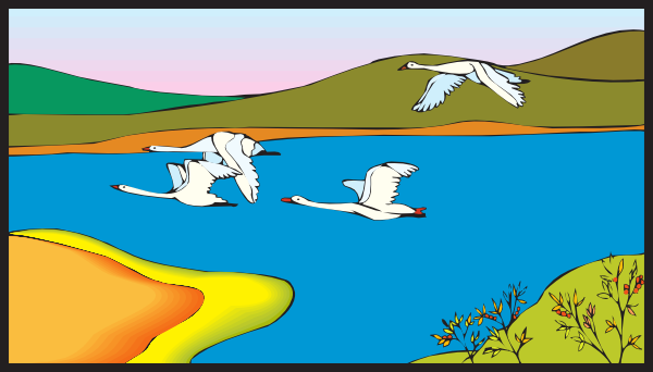 Lake clip art clipart