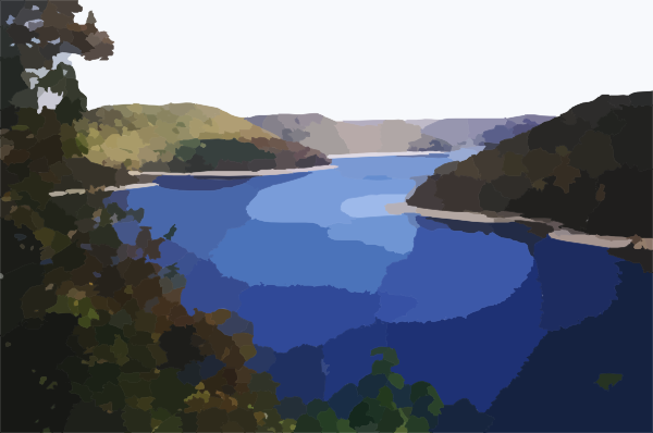 Lake clipart 7