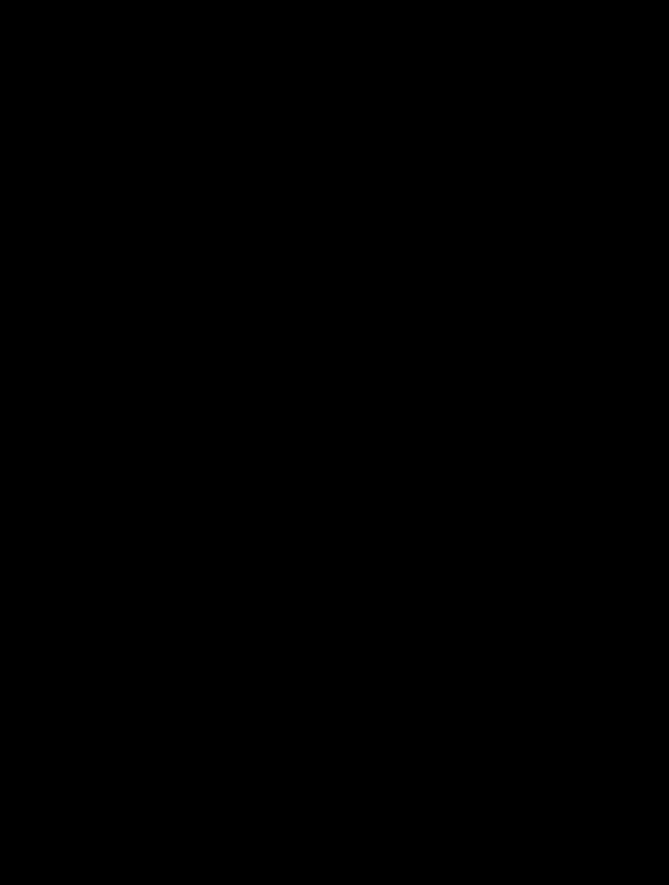 Leaf outline clip art black and white clipart
