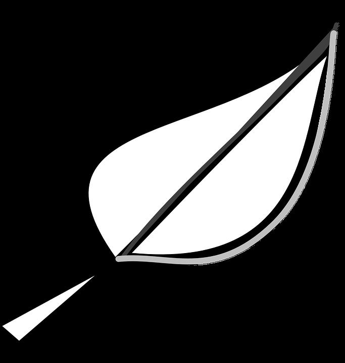 Leaf outline free images on pixabay clip art 2