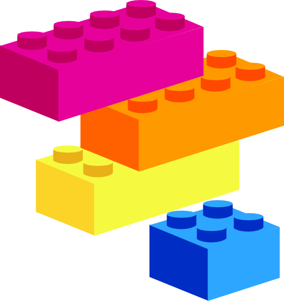 Lego border clipart