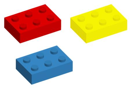Lego brick vector art image clip art