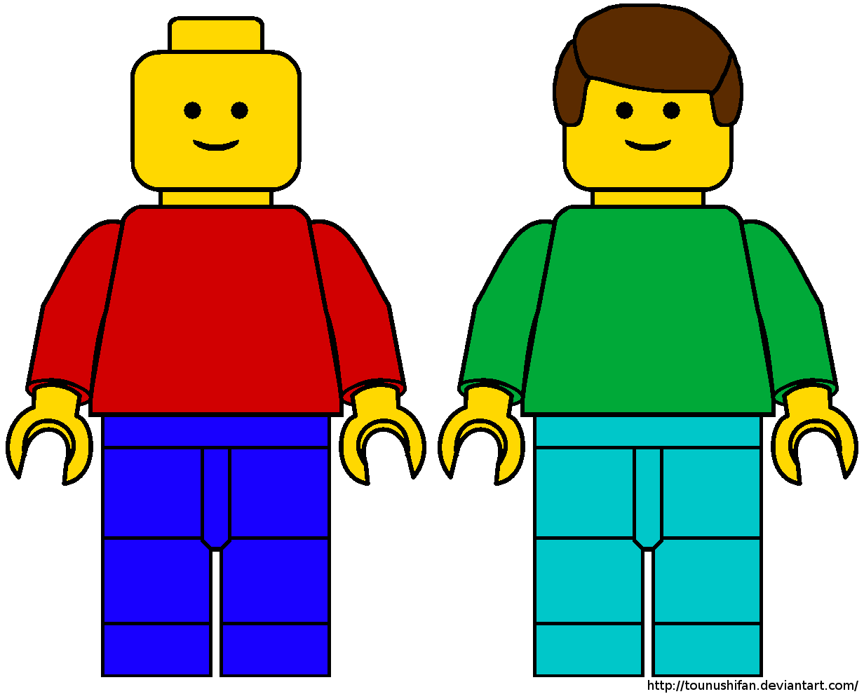 Lego guy clipart 2