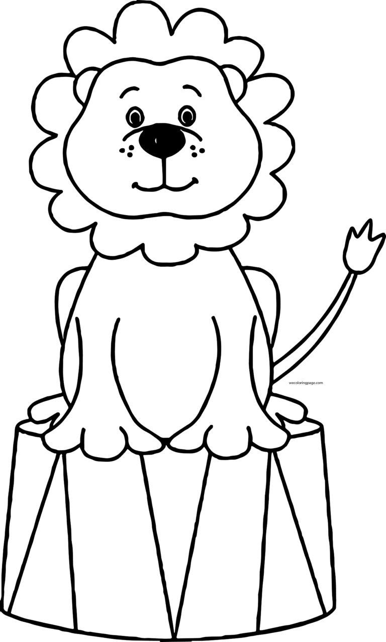 Circus animal clipart black and white