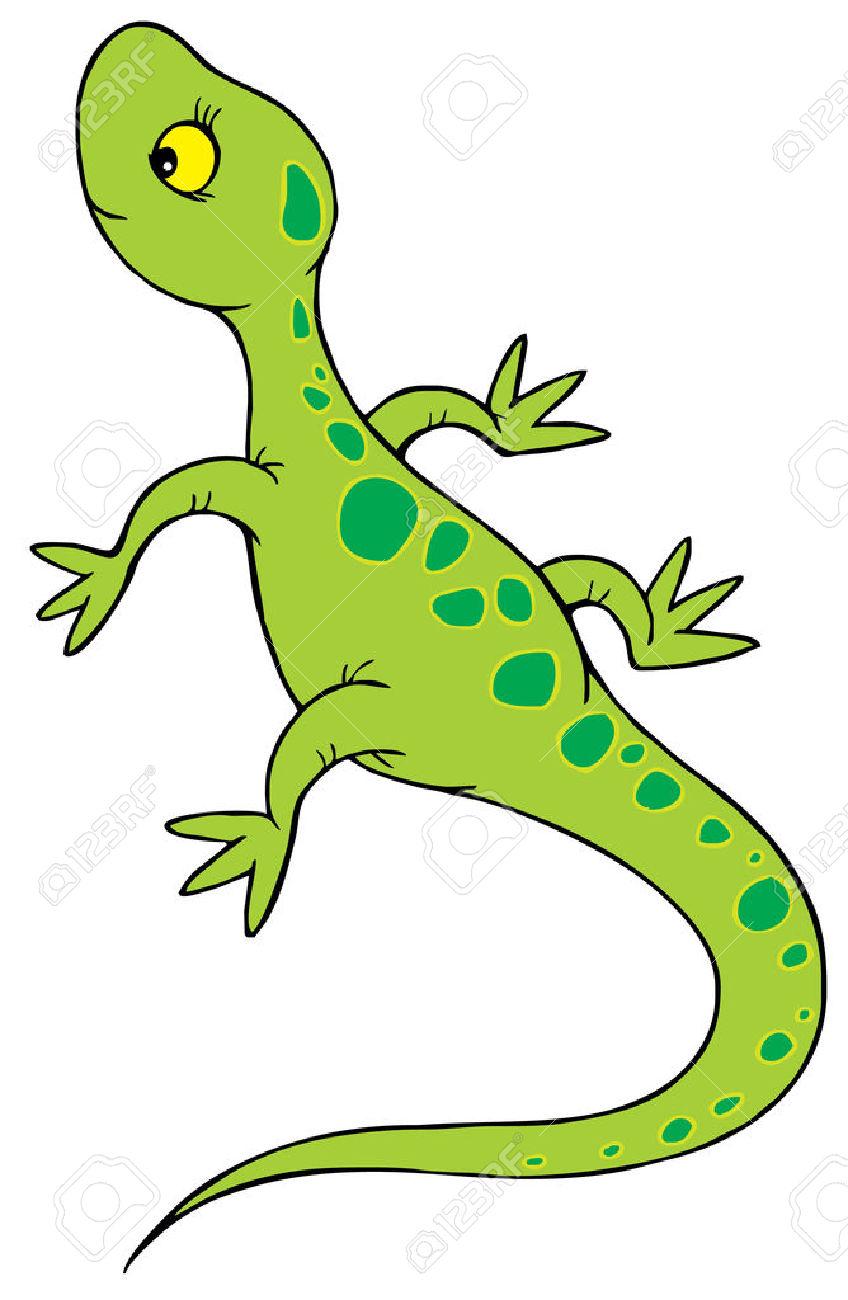 Lizard clipart 1