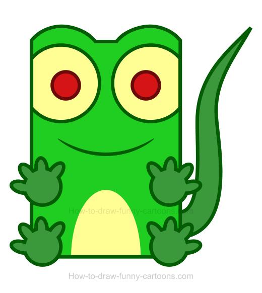 Lizard clipart 10