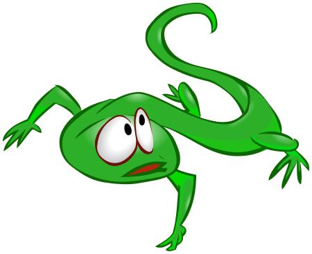Lizard clipart 7