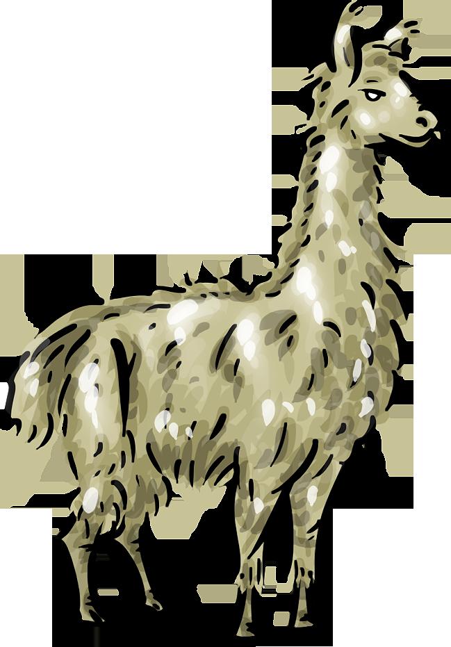 Llama clip art cartoon free clipart images 3 image