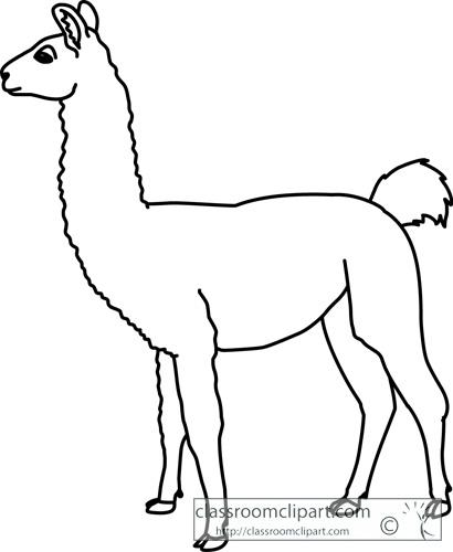 Llama clip art cartoon free clipart images image