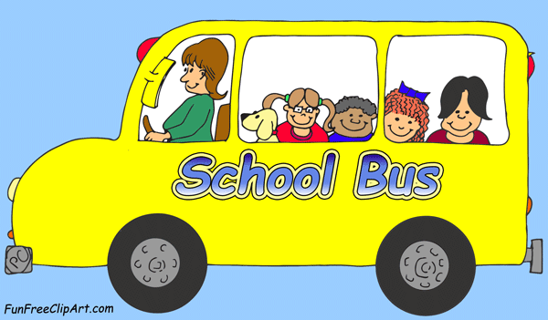 Mini school bus clipart free clip art images image 1 2