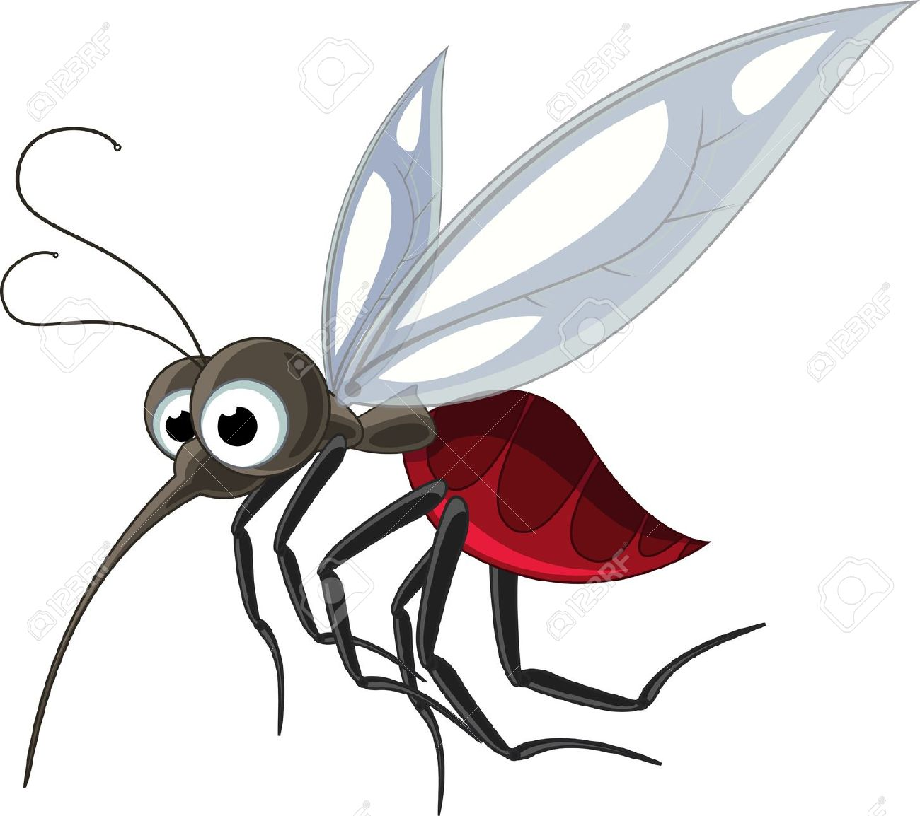Mosquito clipart 2 3