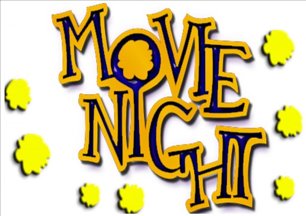 Movie night clip art 3 3