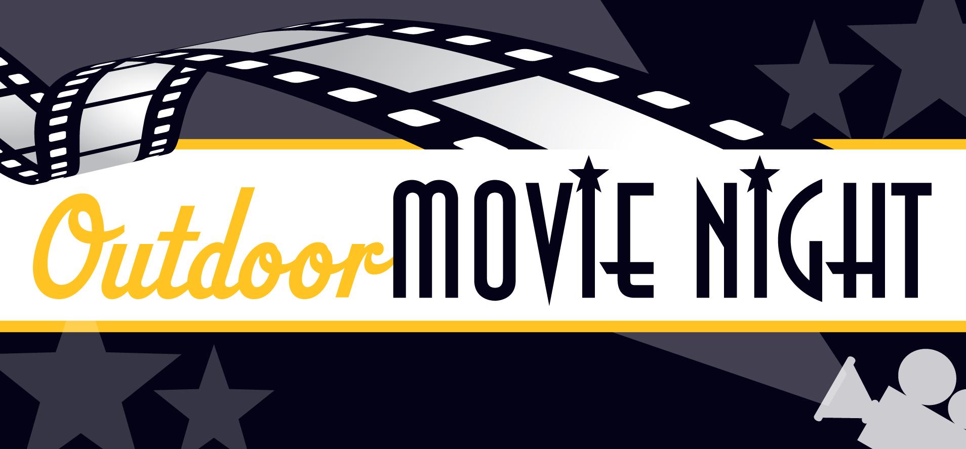 Movie night clip art 4