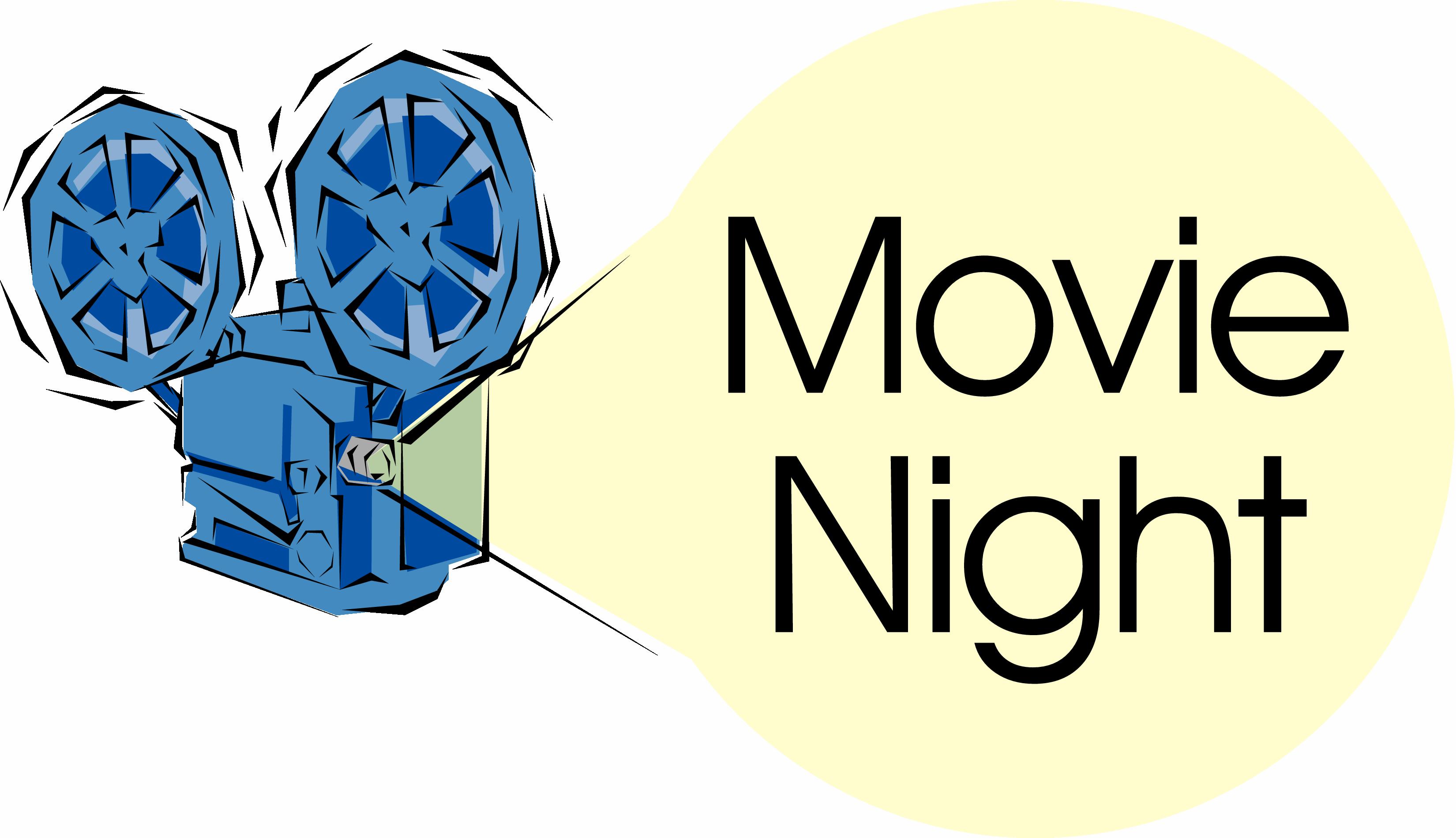Movie night clip art 5 2