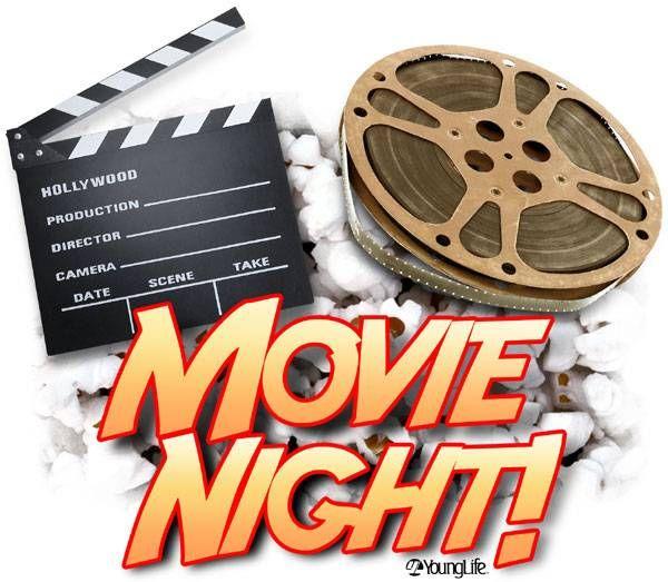 Movie night clipart 1