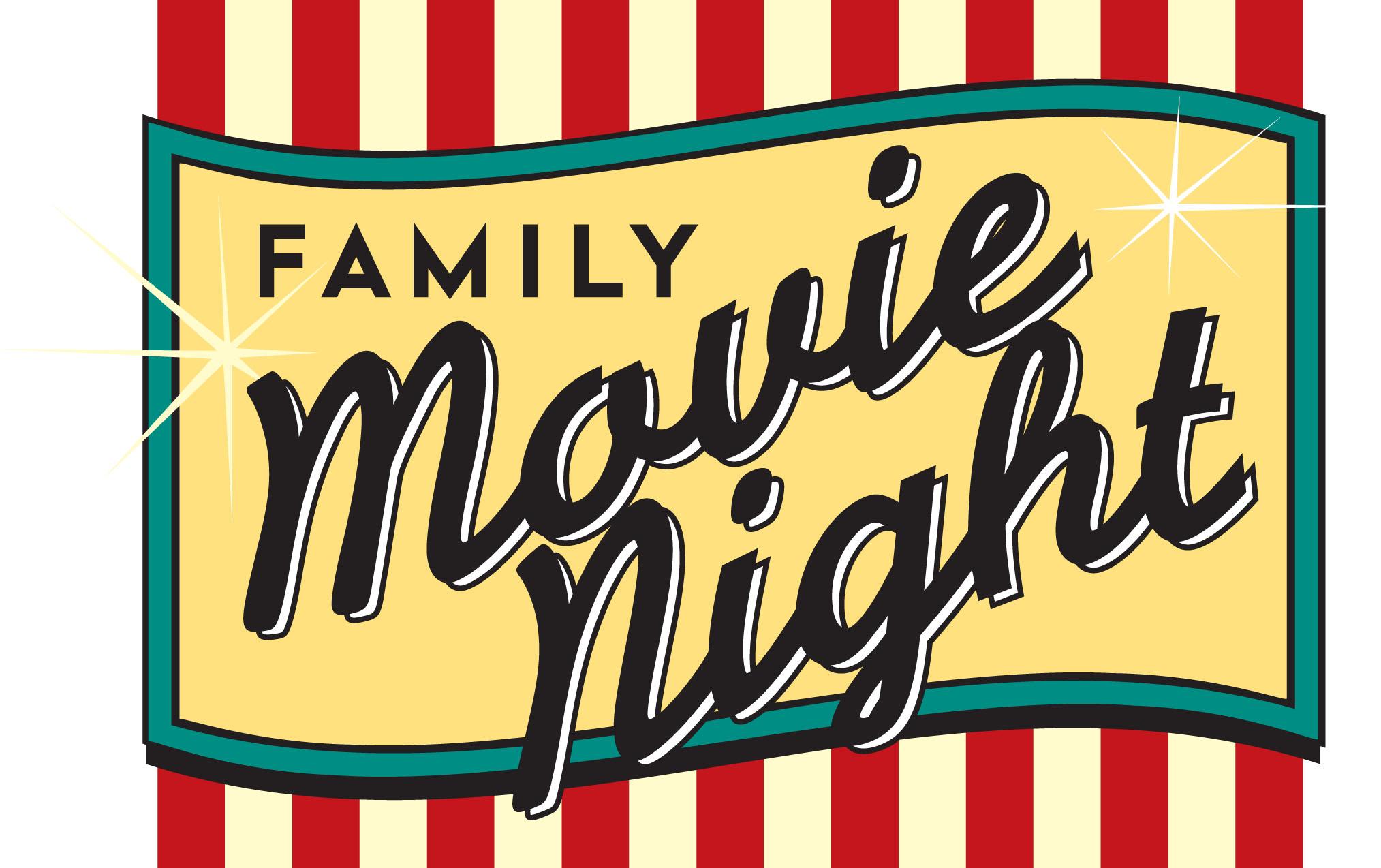 Movie night clipart 4