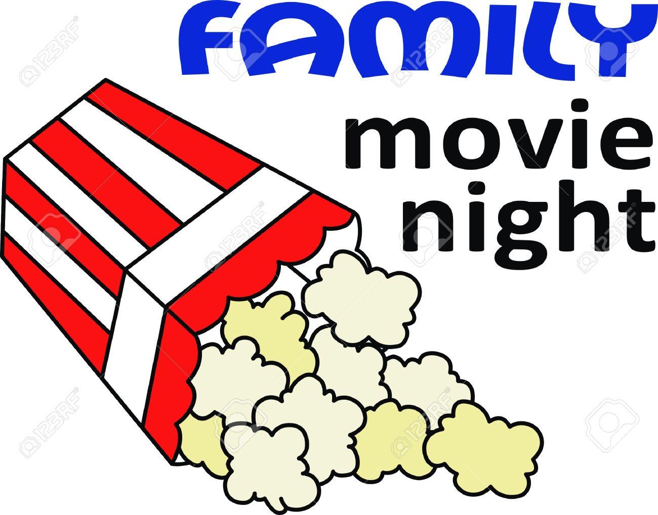 Movie night clipart dfiles