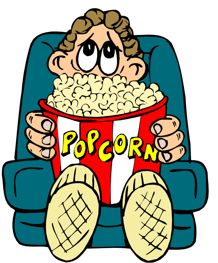 Movie night clipart free images 2 2