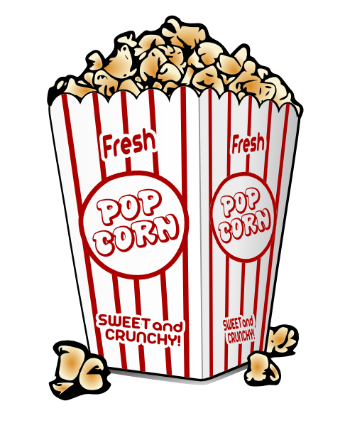 Movie night clipart free images 6