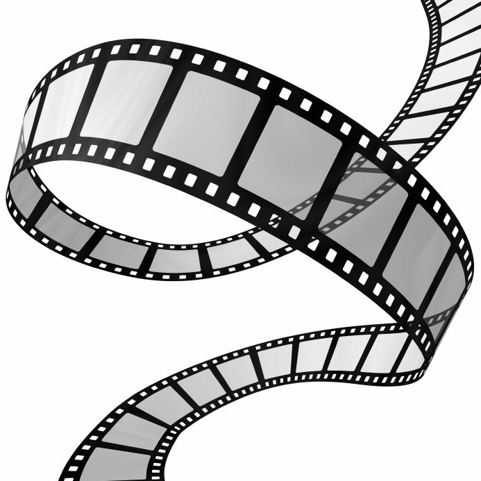 Movie night clipart movie