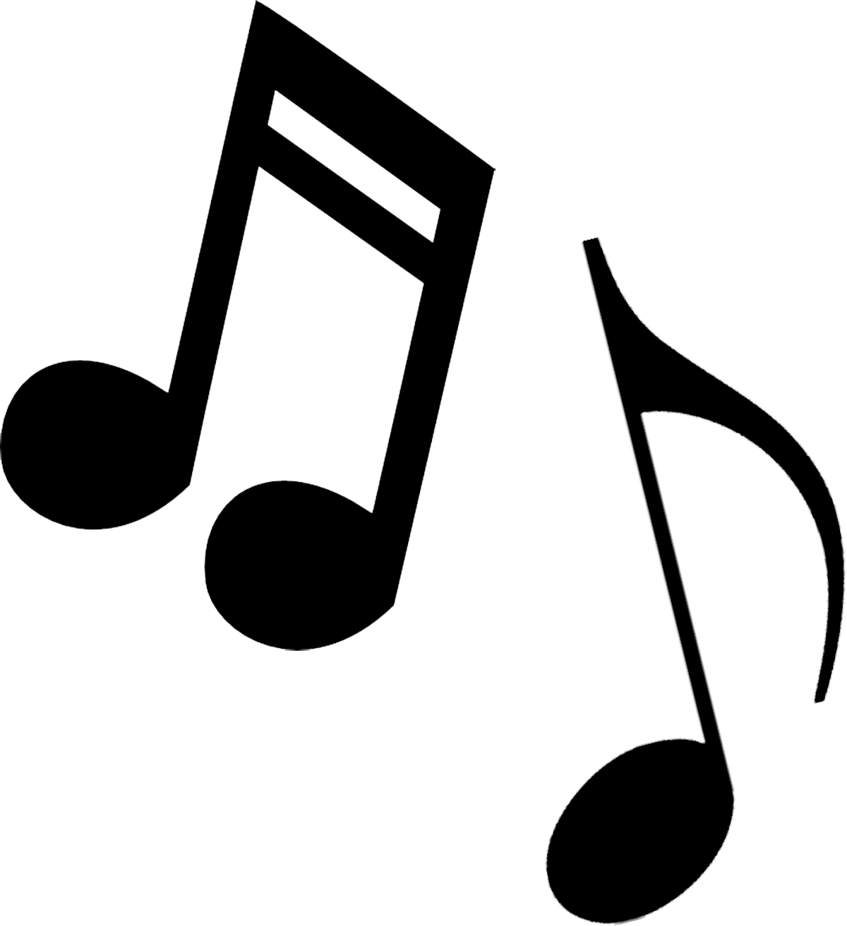 Free music. Notes musical clip art