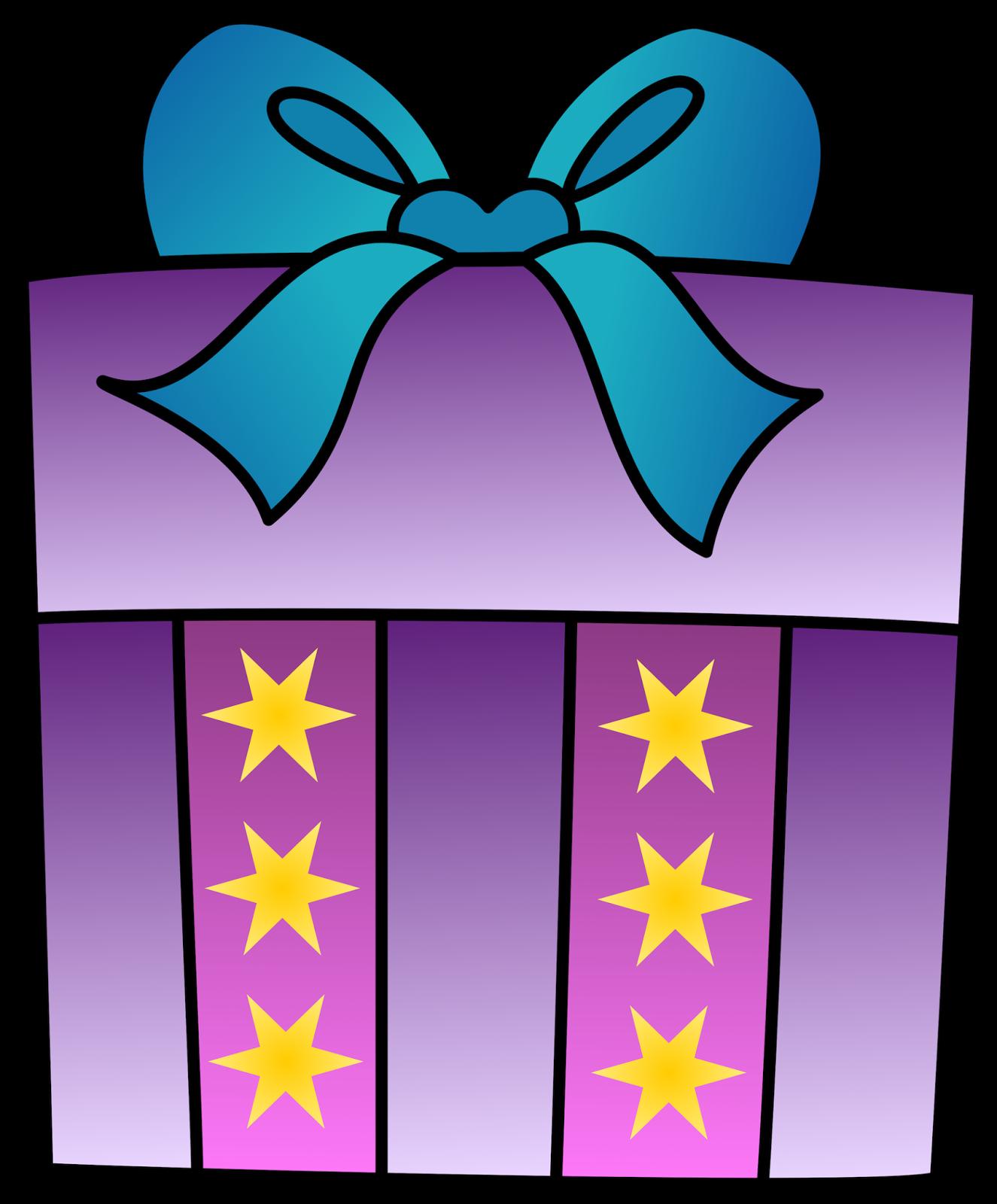 Open presents clipart 2