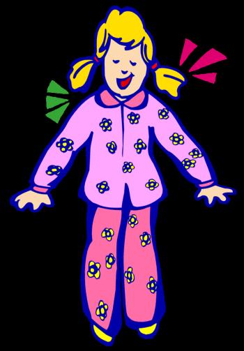 Pajama clip art 4