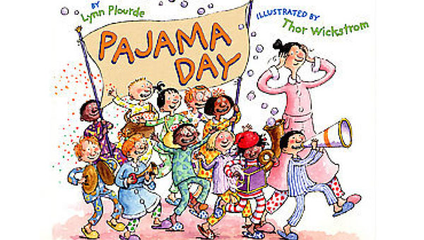 Pajama day clipart