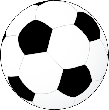 Pics of soccer ball clip art