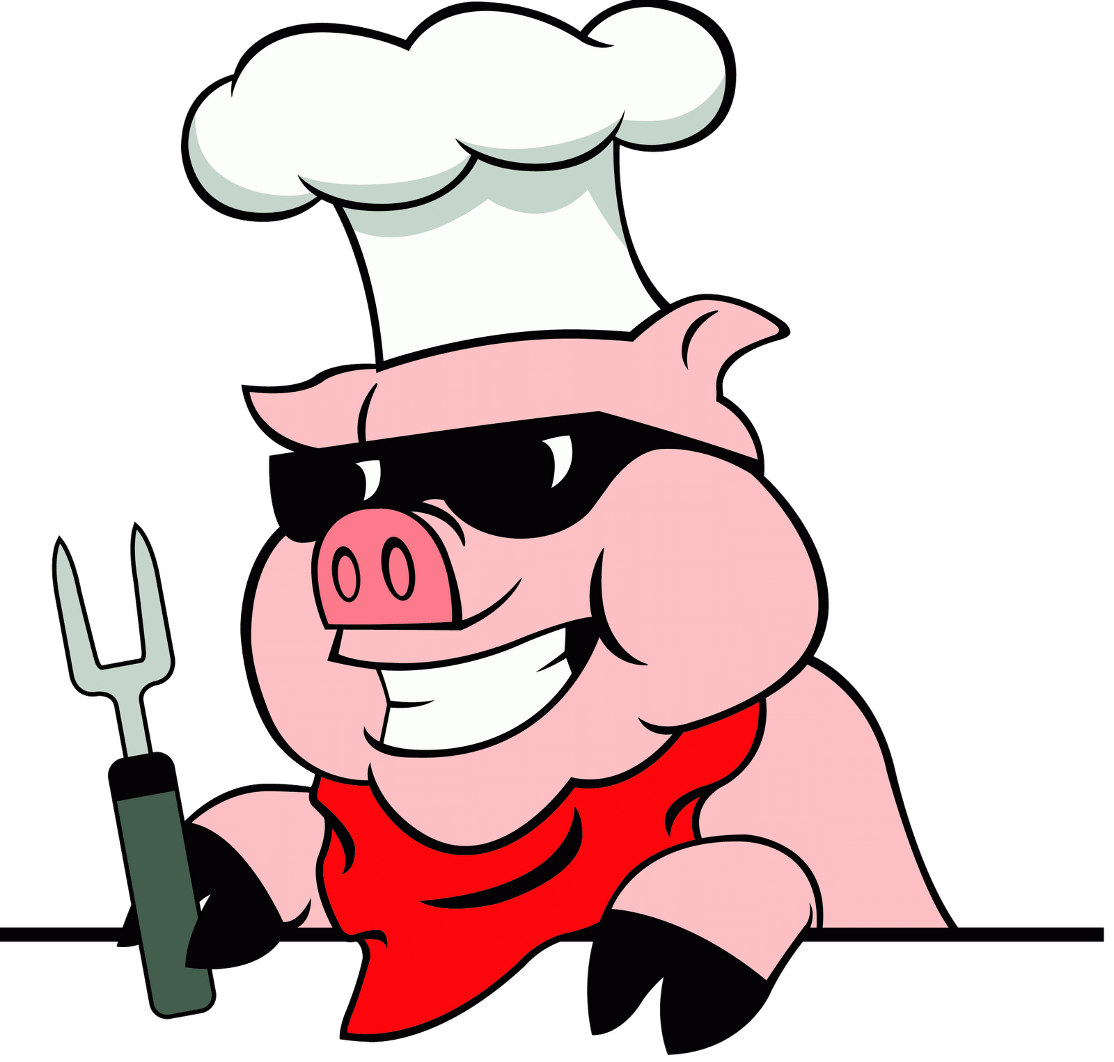 Pig bbq clipart free images