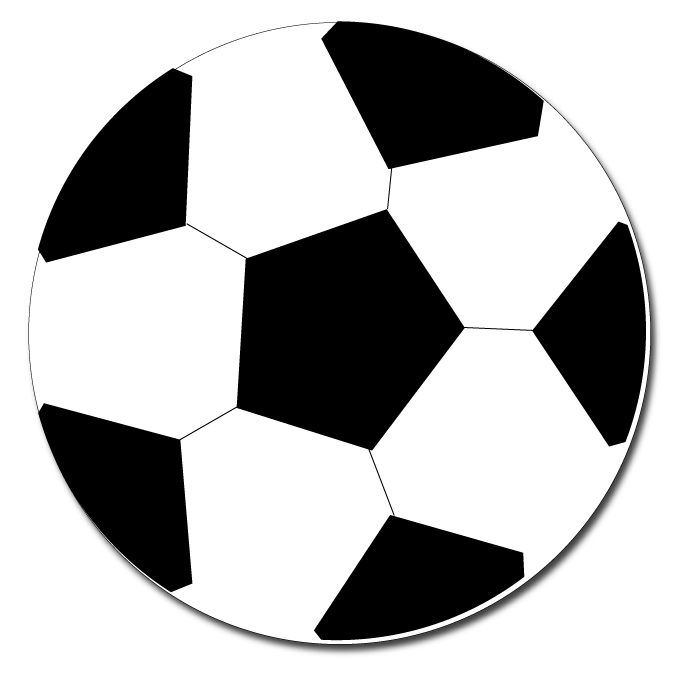 Pink soccer ball clipart free images 2