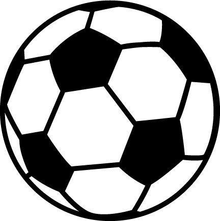 Pink soccer ball clipart free images
