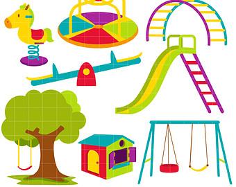 Playground clipart 4 6