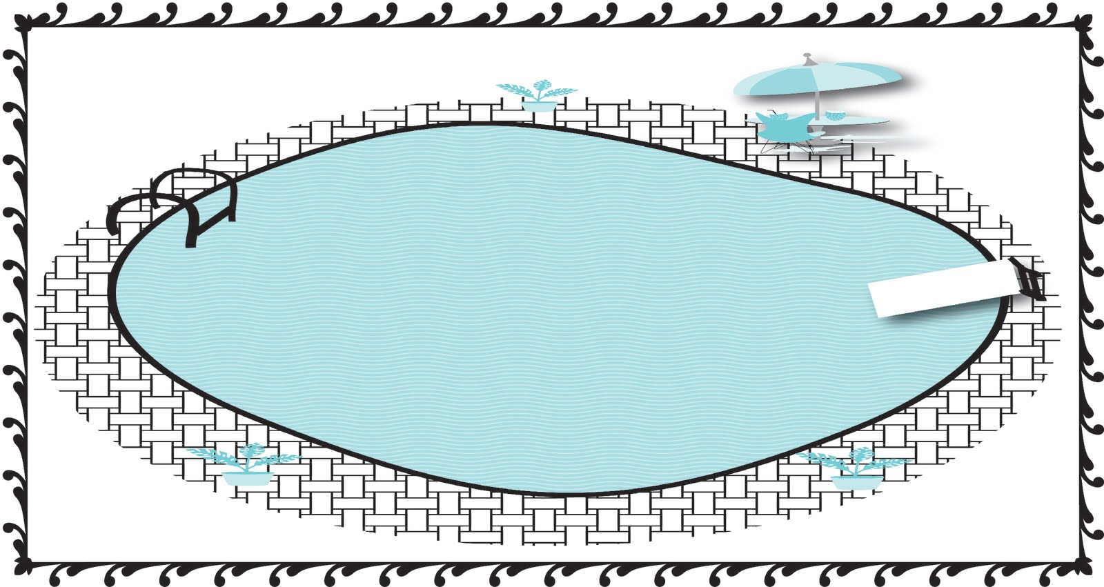 Pool clip art free clipart images 3